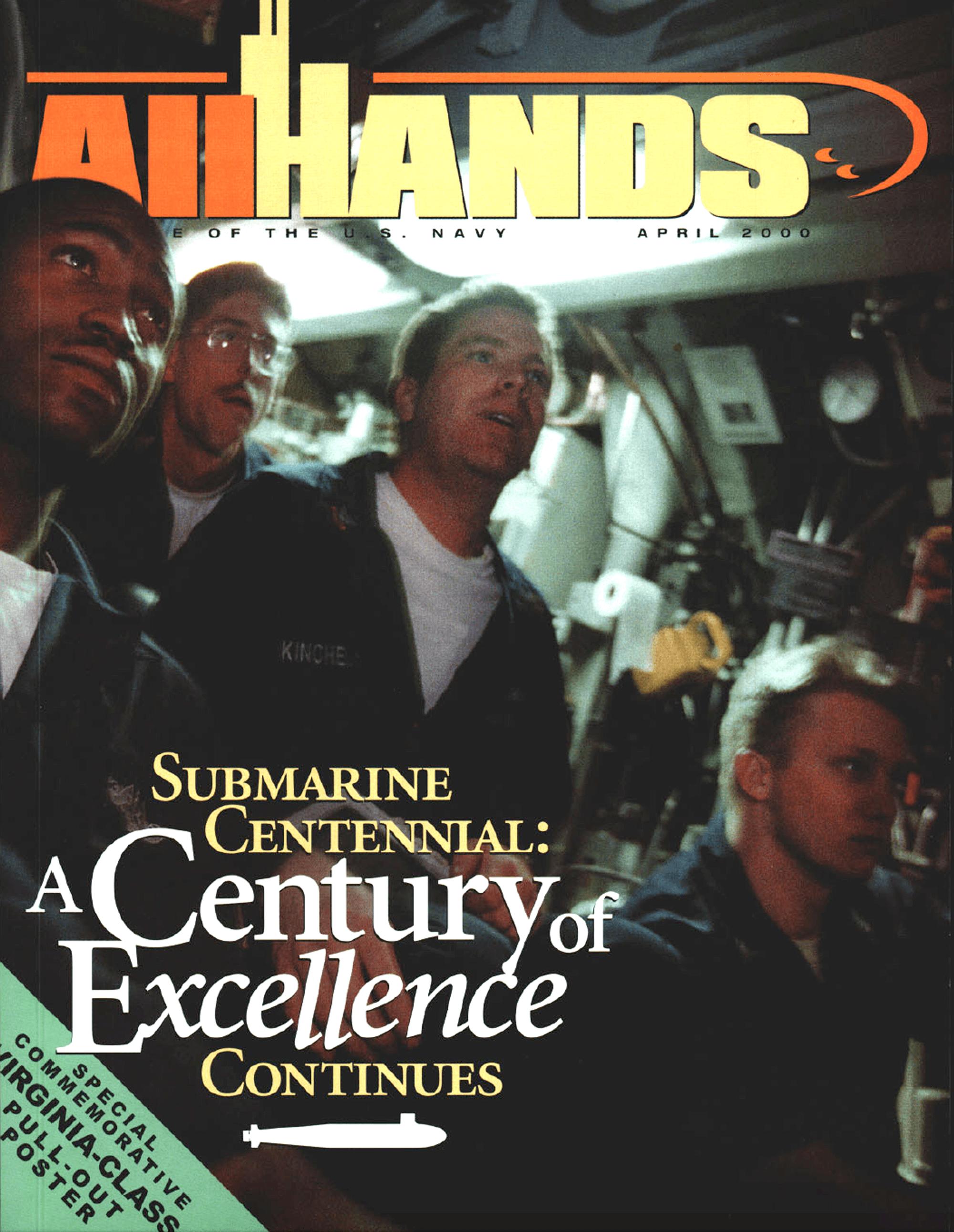 The U.S. Navy' All Hands magazine